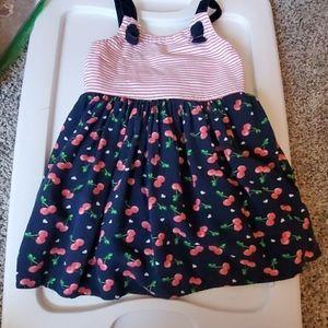 Cute little girls cherry dress